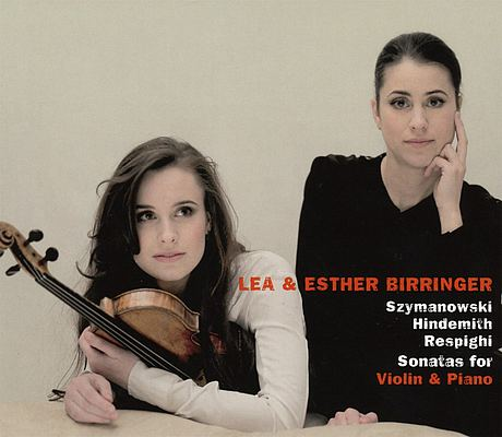 CD-Cover: Lea & Esther Birringer