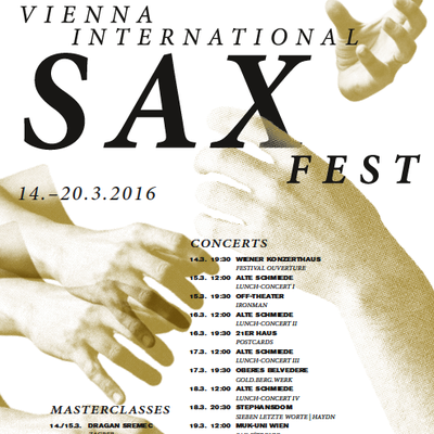 Vienna International Saxfest 2016