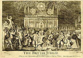 "Kupferstich ""The British Jubilee"""