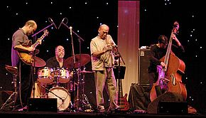 At the Middleheim Festival (Belgium) sitting in with John Scofield, Peter Erskine and John Pattitucci