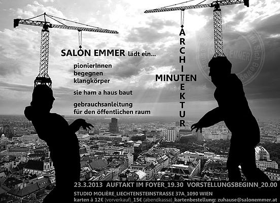 Minutenarchitektur © salon emmer
